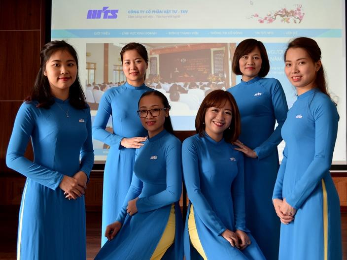 Tính thẩm mỹ trong may đồng phục công ty của xưởng may Sao Việt