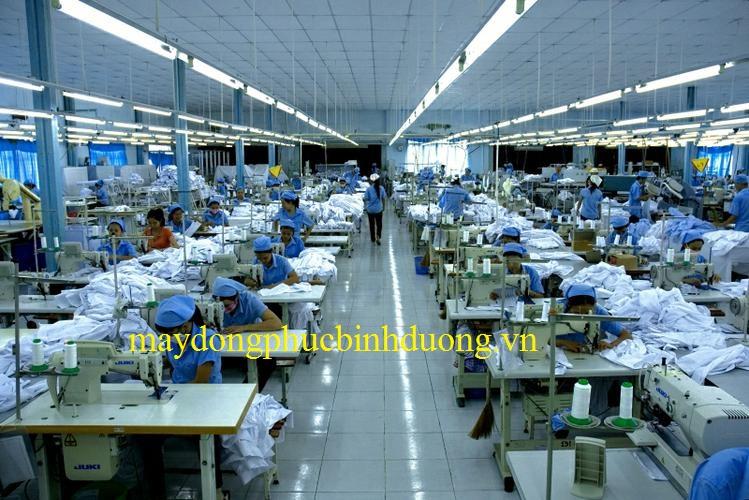 Xưởng may đồng phục tại bình dương Sao Việt